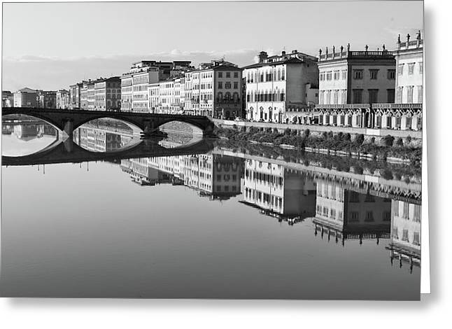 Arno Reflections 1 Greeting Card