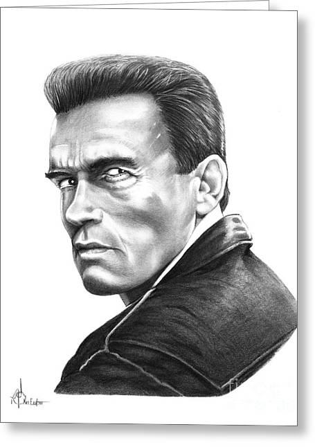 Arnold Schwarzenegger Greeting Card
