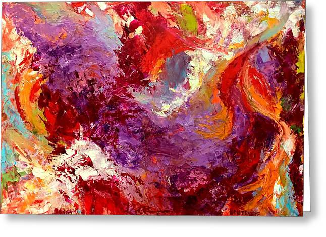 Greeting Card featuring the painting Aromatic Mixtures by Nicolas Bouteneff