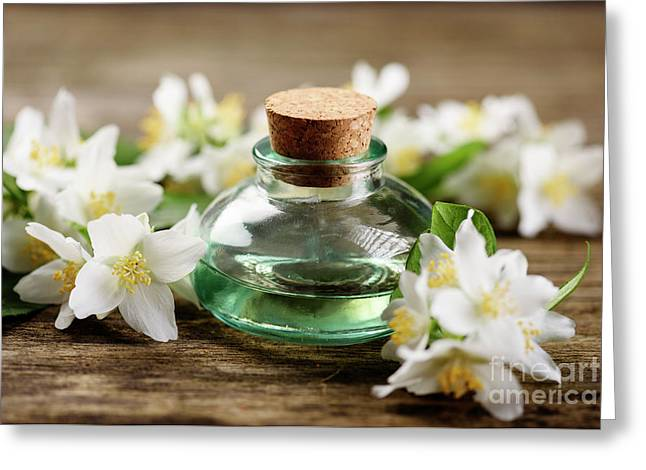 Aromatic Oil Greeting Card