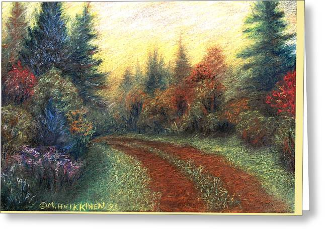 Around The Bend 01 Greeting Card