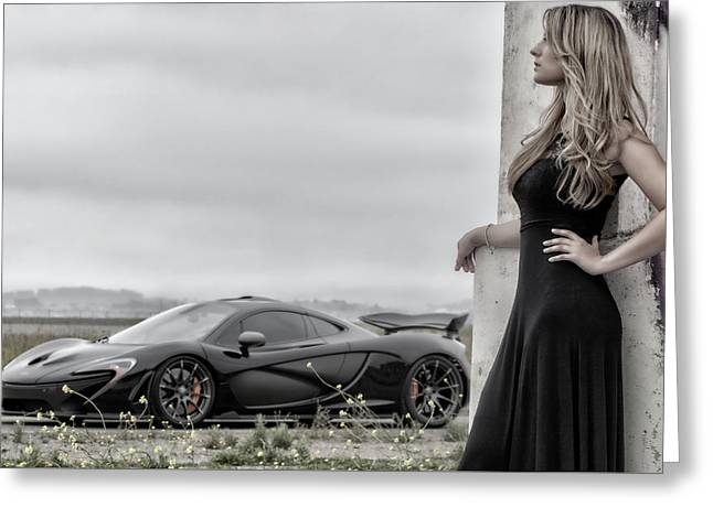 Around The Corner #mclaren #mso #p1 Greeting Card by ItzKirb Photography
