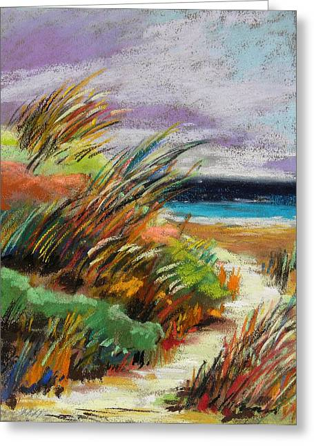 Breezy Drawings Greeting Cards - Around the Dune Greeting Card by John  Williams