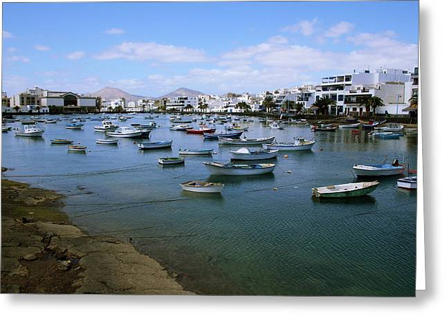 Arrecife - Lanzarote Greeting Card