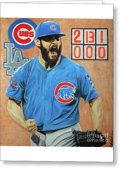 Arrieta No Hitter - Vol. 1 Greeting Card