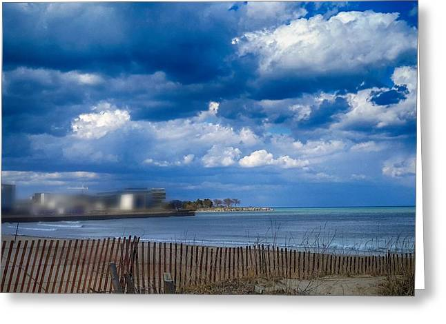 Arrington Lakefront Lagoon Photo Art 03 Greeting Card