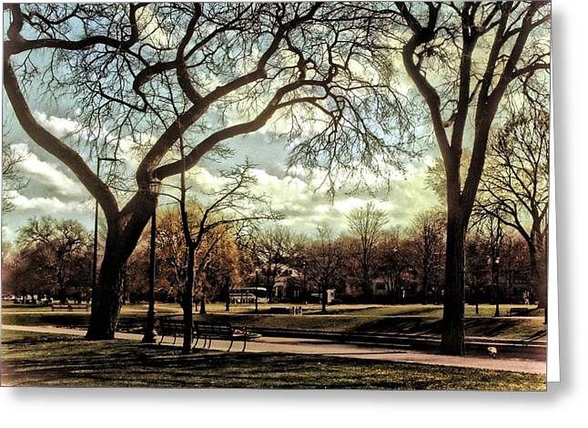 Arrington Lakefront Lagoon Photo Art 05 Greeting Card