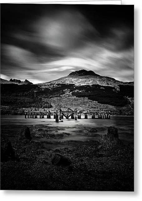 Arrochar Pier, Argyll, Scotland Greeting Card