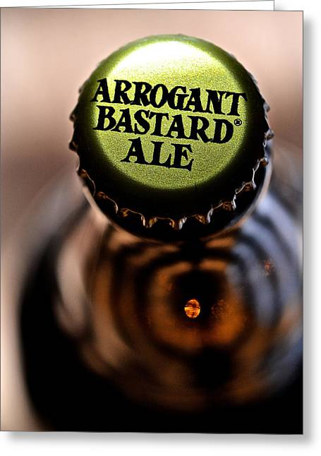Profanity Greeting Cards - Arrogant Bastard II Greeting Card by Bill Owen