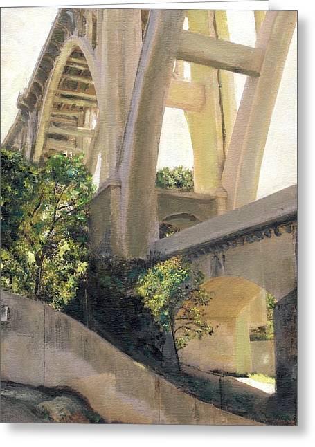 Arroyo Seco Bridge Greeting Card