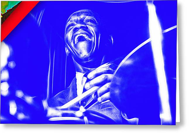 Art Blakey Collection Greeting Card