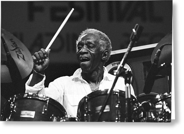 Art Blakey Greeting Card