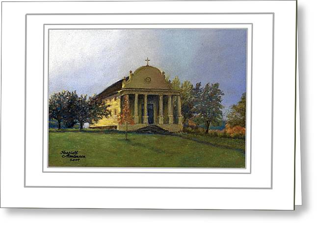 Art Card - Morning Light At Cataldo Greeting Card by Harriett Masterson