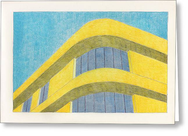 Art Deco Greeting Card by Eric Forster