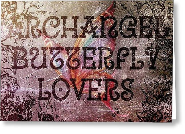 #art #digitalart #contemporaryart Greeting Card by Michal Dunaj