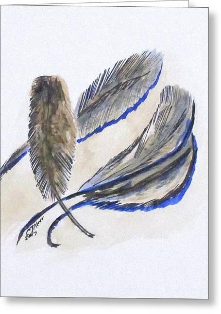 Art Doodle No. 21 Greeting Card