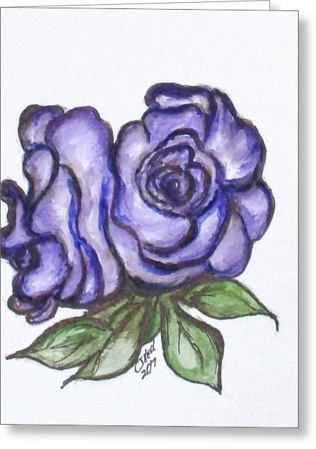 Art Doodle No. 26 Greeting Card