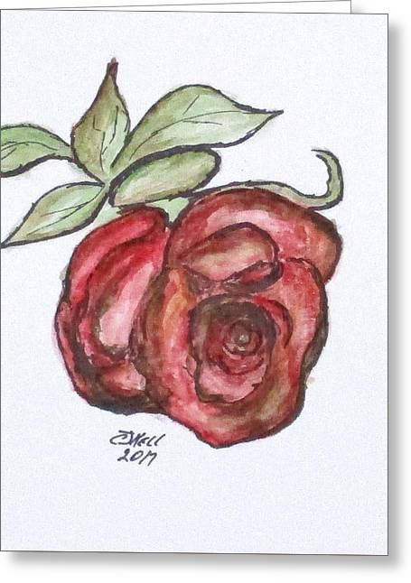 Art Doodle No. 29 Greeting Card