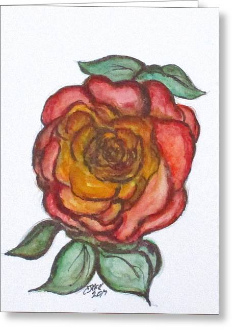 Art Doodle No. 30 Greeting Card