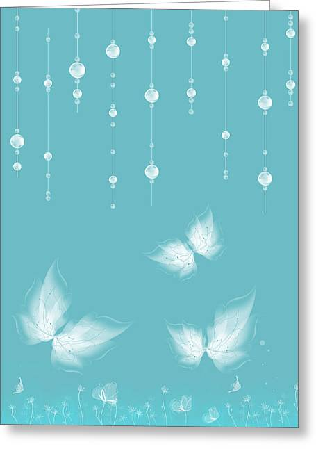 Variance Collections Greeting Cards - Art en Blanc - s11a Greeting Card by Variance Collections