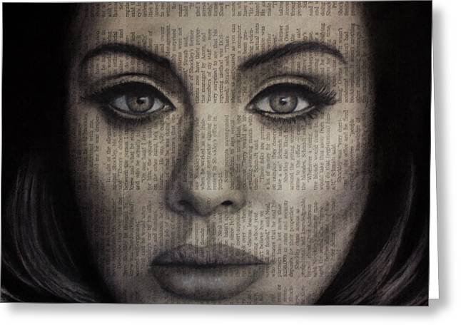Art In The News 72-adele 25 Greeting Card