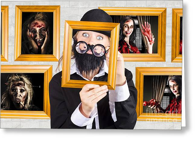 Art Of Halloween Horror Greeting Card by Jorgo Photography - Wall Art Gallery