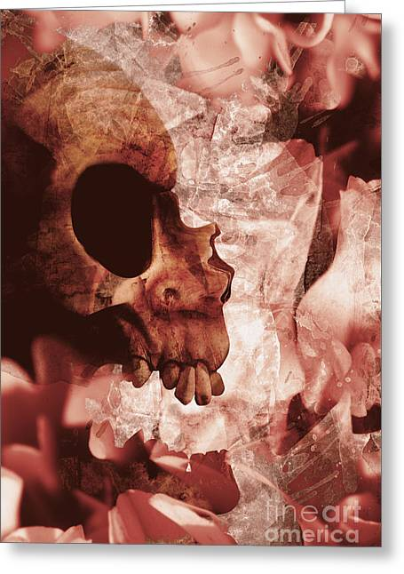 Art Of Love And Death Greeting Card by Jorgo Photography - Wall Art Gallery