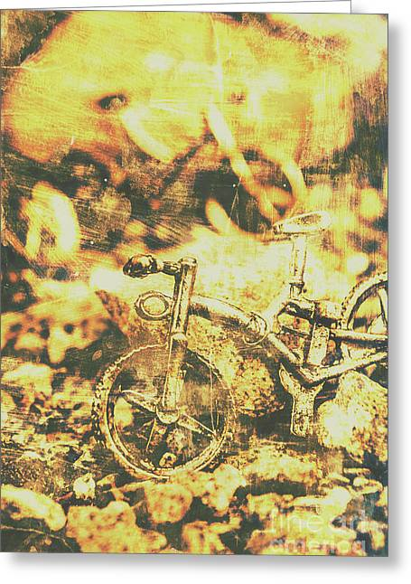 Art Of Mountain Biking Greeting Card by Jorgo Photography - Wall Art Gallery