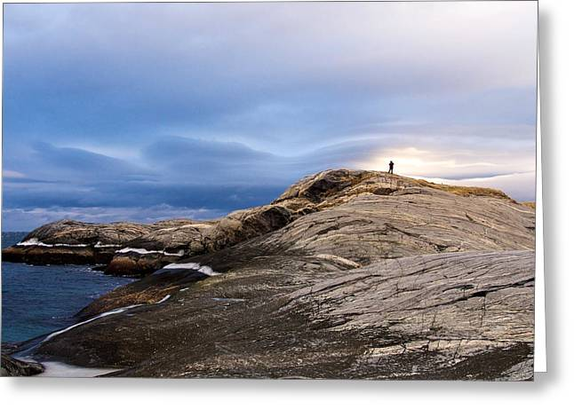 Finmark, North Of Norway Greeting Card