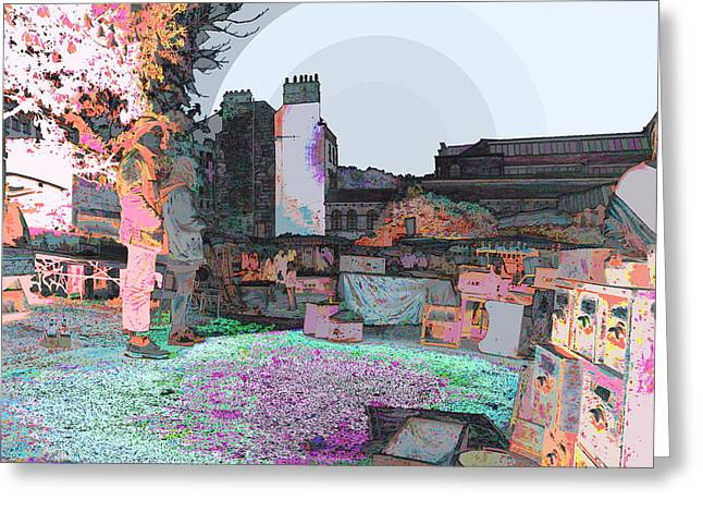 Art Of The Romans Greeting Card by Art Creations