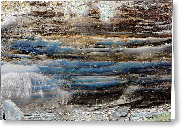 Art Print Cliff 1 Greeting Card