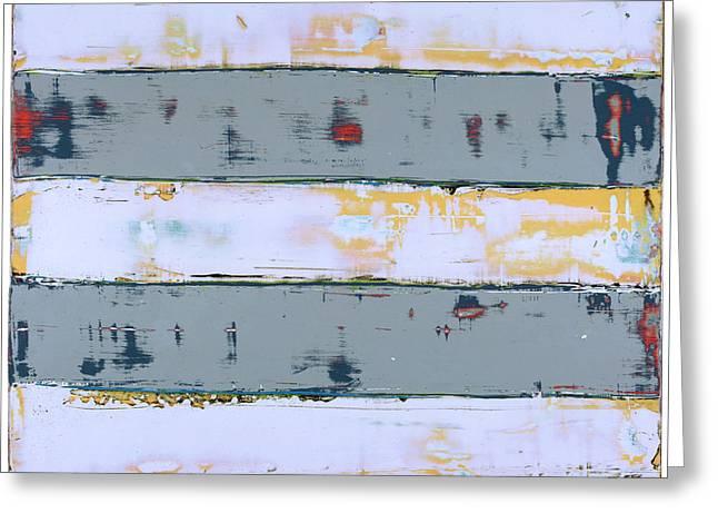Art Print Stripes Greeting Card
