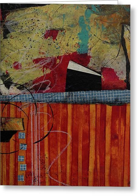 Art Studio Left Overs Greeting Card by Laura Lein-Svencner