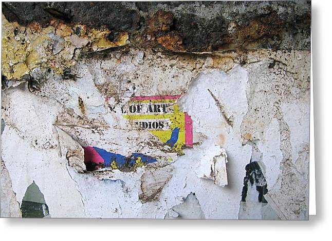 Art That Was Greeting Card by Myron Schiffer