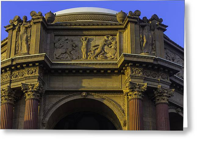 Artful Palace Of Fine Arts Greeting Card