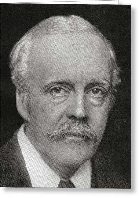 Arthur James Balfour, 1st Earl Greeting Card by Vintage Design Pics