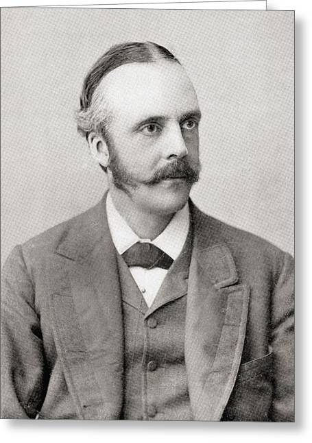 Arthur James Balfour, 1st Earl Of Greeting Card by Vintage Design Pics
