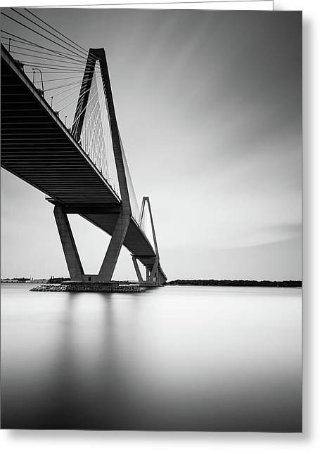 Arthur Ravenel Jr Bridge IIi Greeting Card