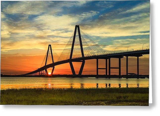 Arthur Ravenel Jr. Bridge - Charleston Sc Greeting Card