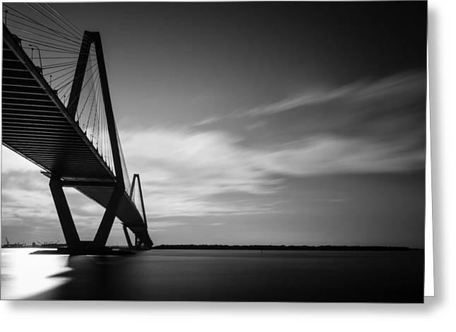 Arthur Ravenel Jr Bridge I Greeting Card by Ivo Kerssemakers