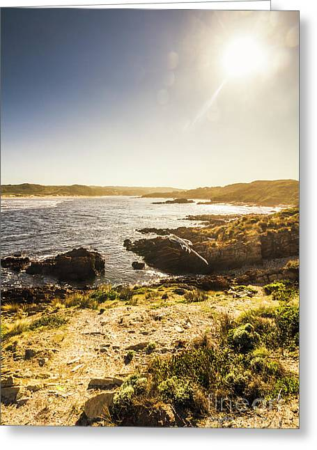 Arthur River Tasmania Greeting Card