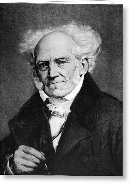 Arthur Schopenhauer Greeting Card by Granger
