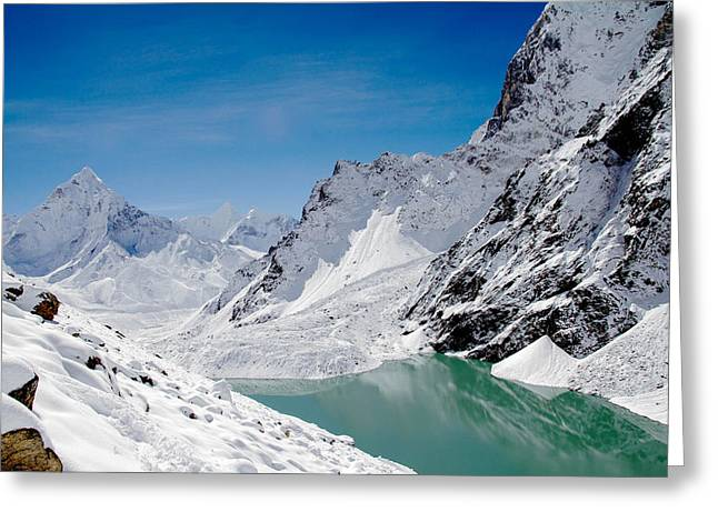Artic Landscape Greeting Card
