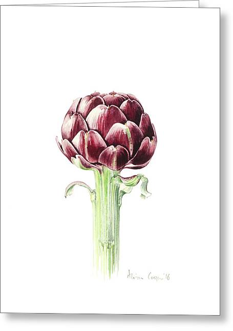 Artichoke From Roman Market Greeting Card