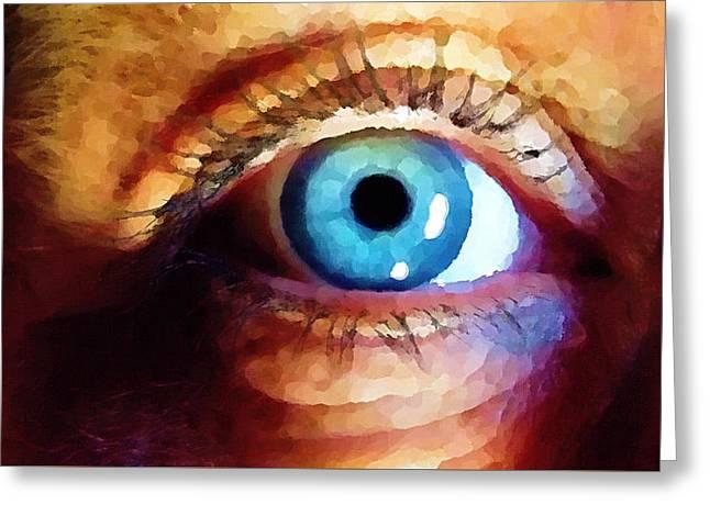 Artist Eye View Greeting Card