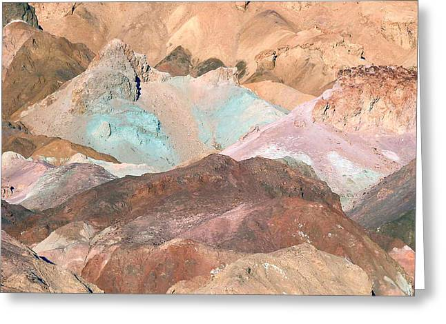 Artist Palette Greeting Card by William Thomas