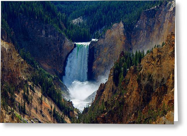 Artist Point #1 Greeting Card by C Steele