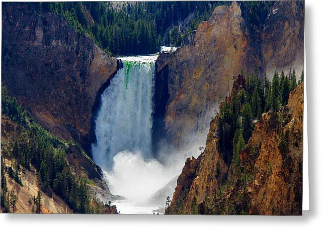 Artist Point #2 Greeting Card by C Steele