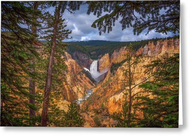 Artist Point Afternoon Greeting Card