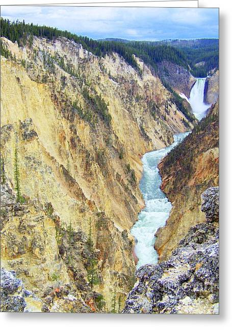 Artist Point Il Greeting Card by Peyton Imes